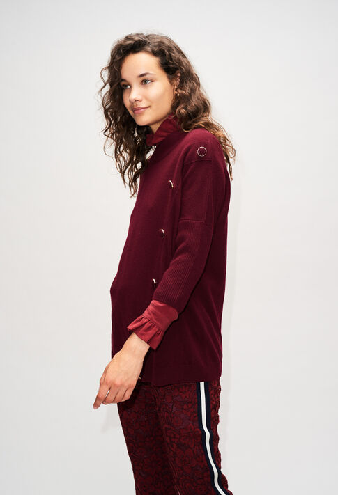 MARYH19 : Maille & Sweatshirts couleur VELVET