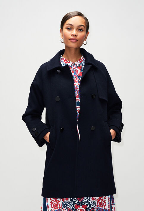 GRANITEH19 : Manteaux et Blousons couleur MARINE