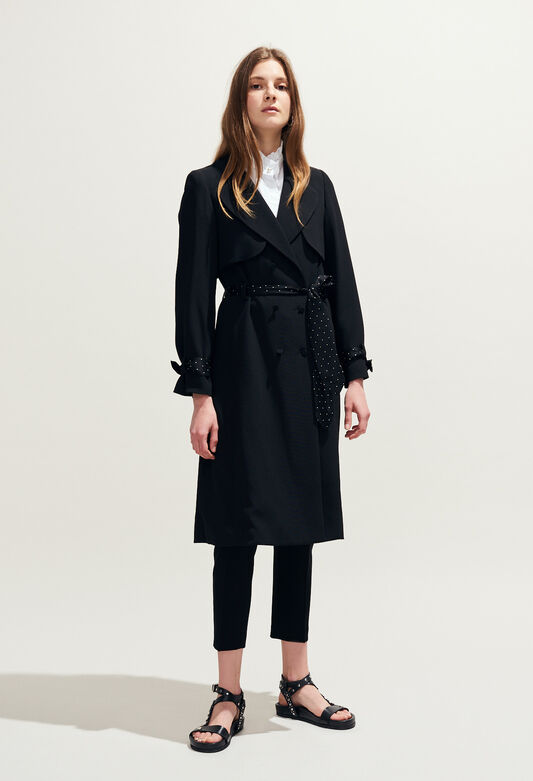GRACIEUX : Coats & Jackets color Black