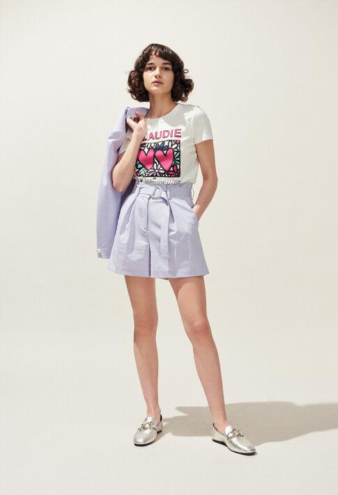 TIAMO : T-shirts color Ecru