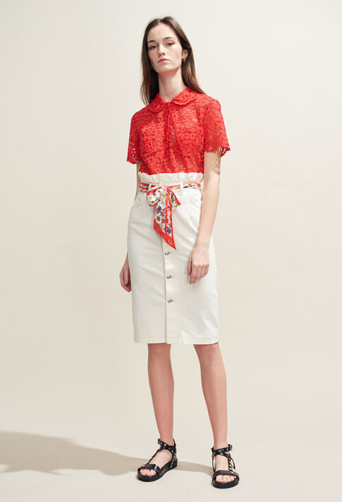 BELANGE : Tops & Shirts color ECARLATE