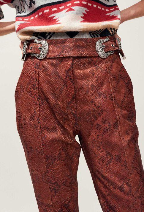 CRANBERRY : Jeans & Pants color PYTHON