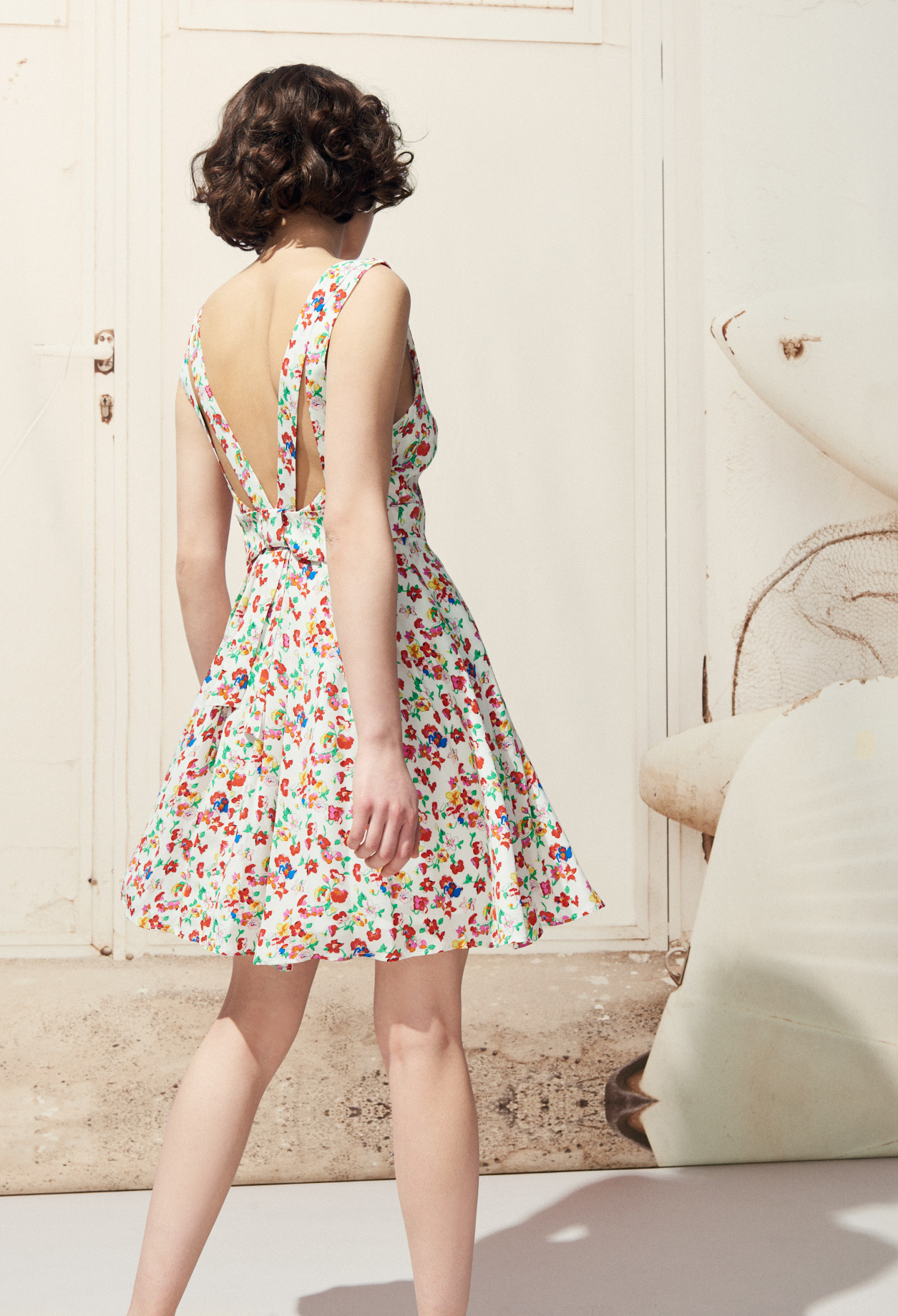 Rencontre iconic floral dress